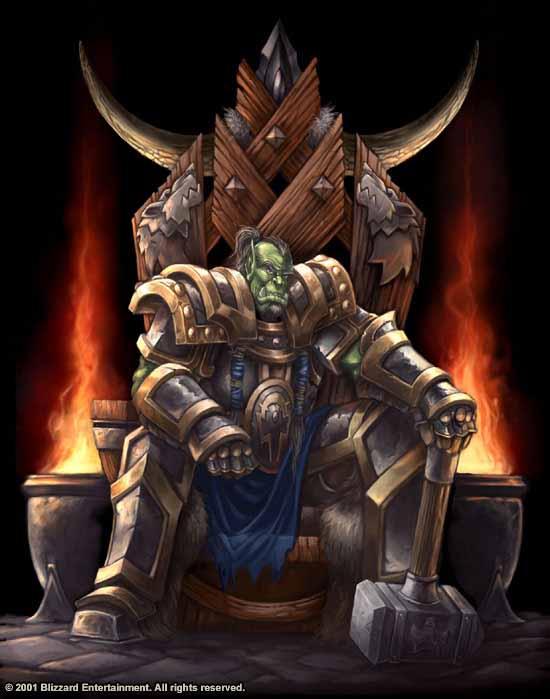 Personajes Importantes de Warcraft Thrall_hrone