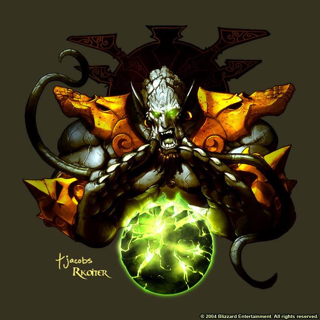 Personajes Importantes de Warcraft Archimonde3