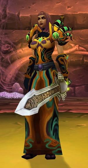 La veuve faerlina (2ieme boss aile des araignées) Faerlina