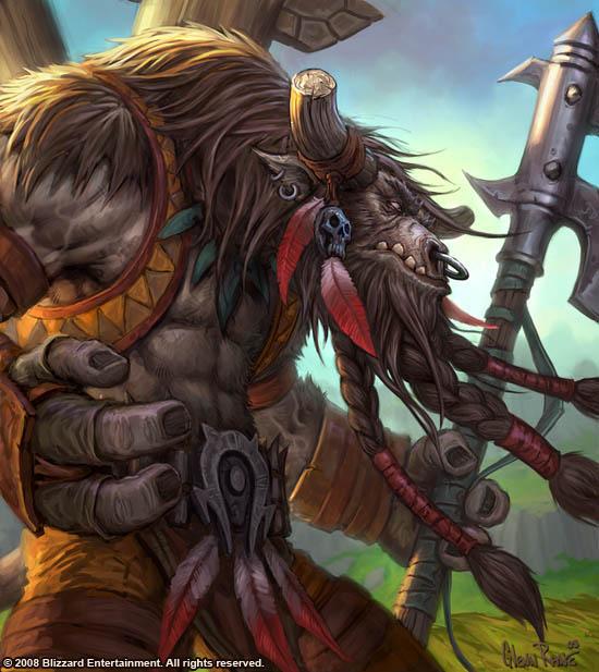 Personajes Importantes de Warcraft Cairne_Bloodhoof_TCG