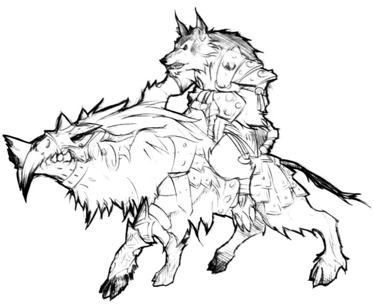 world of warcraft worgen mount. Should Blizzard made worgen