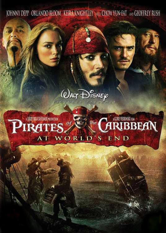 Pirates of the Caribbean 3 ผจญภัยล่าโจรสลัดสุดขอบโลก HD 2007 FullHD1080p