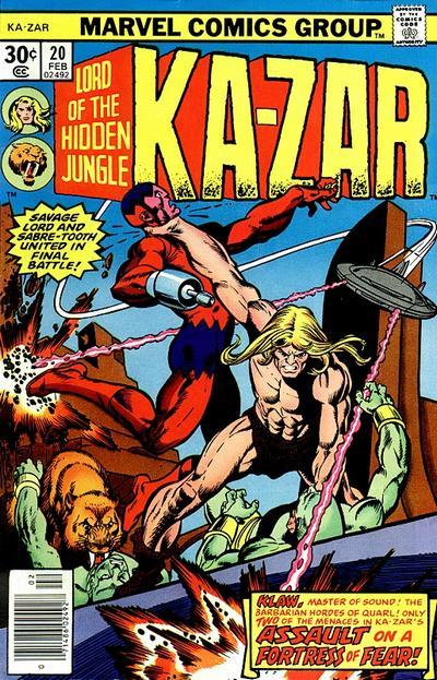 Ka-Zar Vol 2 20 - Marvel Comics Database