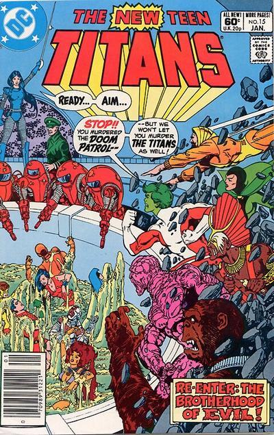 New Teen Titans Vol 1 15 - DC Comics Database