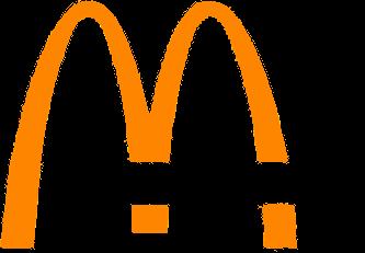 McDonald's logo, 1968-1983