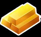 Gold Bar Icon
