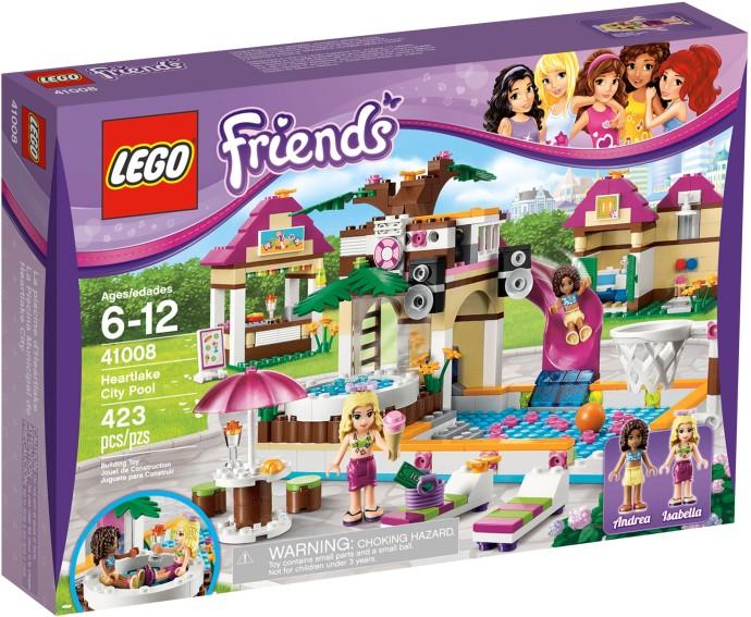 Lego Friends 41008 Heartlake City Pool Brand New 2013 Release Free