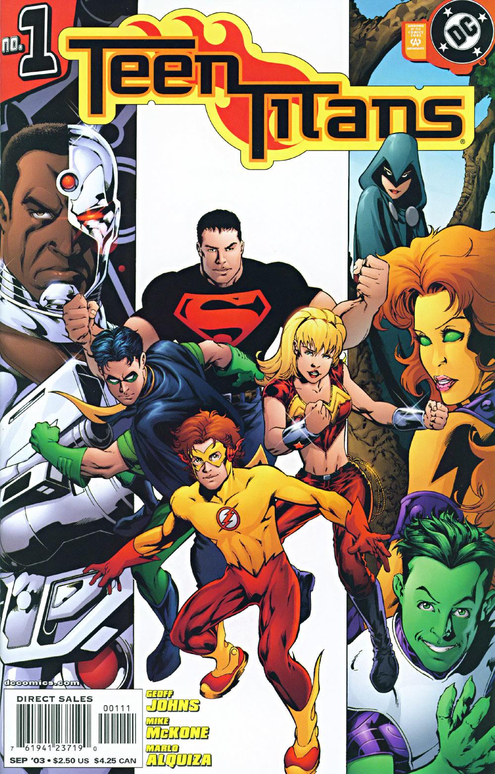 Teen Titans Vol 3 - DC Comics Database