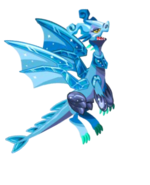 Crystal Dragon 3d