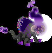 Dark Fire Dragon 3d